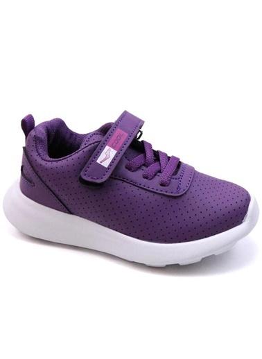 Cool 20-S20 Mor Kız Çocuk Bebe Fileli Günlük Spor Ayakkabı Mor